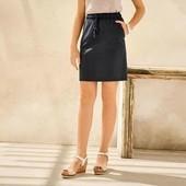 Стильная льняная юбка Esmara размер евро 36