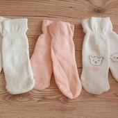 Набор махрових носочків 3 пари на вашу манюню, розмір 19/22, бренд lupilu Геpманія