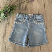 Джинсовые шорты для девочки 1,5-2 года. В хорошем состоянии.