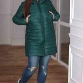 Зимняя куртка на овчине, размер 50