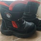 детские ботинки , еврозима , стелька 13,3 см , очень удобные !
