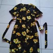Качественное платье - рубашка с поясом.
