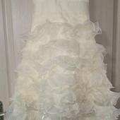 Нарядное платье, новое, рост 130
