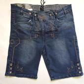 Шорты мужские джинсовые в традиционном стиле р.евр.56