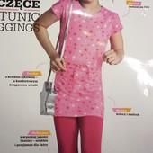 Комплект туника и леггинсы на девочку 3-4 года yangstyle