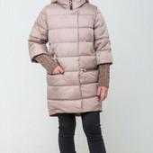 ♥ Демисезонная куртка Юлианна с отстежными манжетами- 30 р (122 рост) ♥
