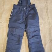 Зимние штаны полукомбинезон Topolino. Размер 104. Для мальчика.