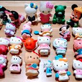 Лот из 23-х пластмасовых и резиновых игрушек для купания и игры в песочнице, размер 5-10 см