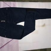 джинсы на флисе с широким поясом 26р