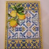 """Крутой блокнот """"Лимоны"""" в клетку 80 листов формат А5"""