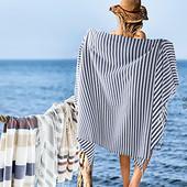 пляжное полотенце от Tukan. Цвет на фото 2-3. Био хлопок