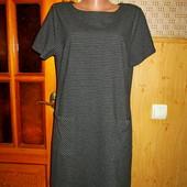 Качество! Стильное теплое платье от бренда Nutmeg в новом состоянии