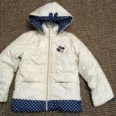 куртка для дівчинки демисезон з капюшоном