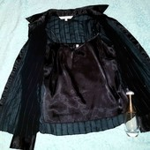 Шикарнейшая блузка с маечкой под низом,XS-S