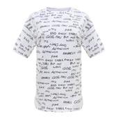 "Женская футболка ""Gor MTS"" белая. Размер 48-52."