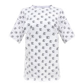 "Женская футболка ""RG"" белая"