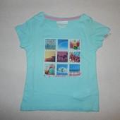 Яркие стильные футболки из натурального хлопка на девочек