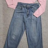 Собираем лоты!!! Комплект джинсы с высокой посадкой +реглан, размер L