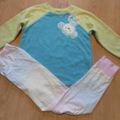 Пижама Carters кофта флисовая,штаны х\б состояние очень хорошее