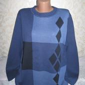 Хорошенький свитер в идеале 14-16р., грудь 59