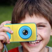 Детский фотоаппарат с записью видео и цветным экраном dvr baby Голубой