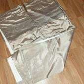 Две шторы на подкладке от Next размера 168×137