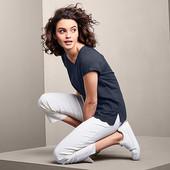 Симпатичная блуза с вышивкой от Tchibo Германия размер евро 52/54 (укр 58/60)