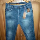 Стильные джинсы батал. Размер 38