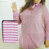 HH17...упаковка .красивая, стильная женская блуза туника, Esmara Германия
