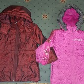 Дві курточки стан для двору 3-4р,і 5-6р.