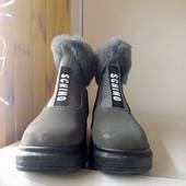 Ботинки зима+ подарок зайка Тильда