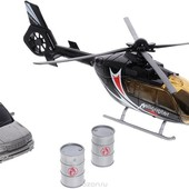 Набор игровой Big Motors Вертолет(звук,свет) и машинка очень класный
