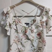 ☘ Лот 1 шт ☘ Блуза з квітковим принтом Our Heritage (Англія), рр. наш: 46-48 м євро