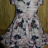 Нарядное платье Matalan на 6 лет