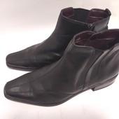 =Кожа-100% бомбезные модельные деми Ботинки в идеале(уп-10%)
