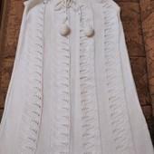Красивое вязаное платье-туника