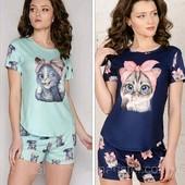 Классный домашний комплект, пижамка р.S,M,L. Можно на подарок!!! Разные!!!