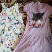 Два летних платья одним лотом на 4-6 лет