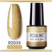 Гель-лак Rosalind 7ml скло ❤️Один на вибір або 2 по ставці бліц❤️Дивіться інші лоти
