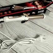 Утюжок GM 2962, Стайлер для волос, щипцы гофре, плойка волна, выпрямитель для волос