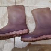 Резинові чоботи 34р або 21 см