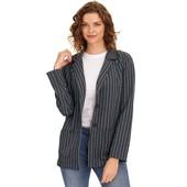 ☘ Лот 1 шт ☘ Жіночий піджак з коміром кent від Gina Benotti (Німеччина), розмір S 36/38