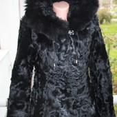 Стильная шубка - куртка р.м, натуральная козочка