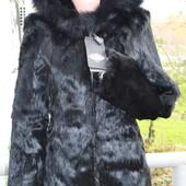 Мехова куртка - полушубок, кроль, размер м