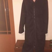 Довгий флісовий халат на королівські форми!