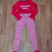 Не пропуститеШикарная плотная хб пижамка на ребенка 8-10л.Состояние новой!Много лотов!