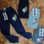 Трикотажные спортивные брюки с начесом для мальчиков Active Sports 98.р.