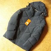 Мужская стеганная зимняя куртка