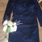 Роскошное нарядное платье от Mario Rosella 44 евро размер