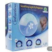 Детский светильник Infantino Спокойные сны Голубой!